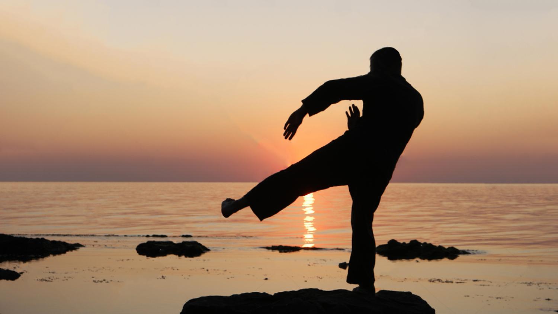 Sifu Gurdeep Singh of Birmingham training his Wing Chun forms